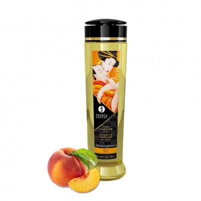Shunga Massage Oil Stimulation Peach 240ml