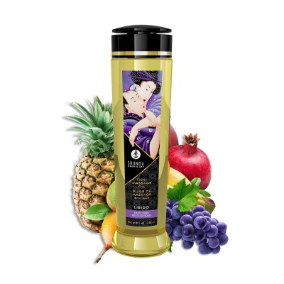 Shunga Massage Oil Libido Exotic Fruits 240ml