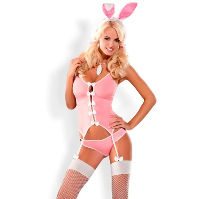 Obsessive Pink Bunny Costume