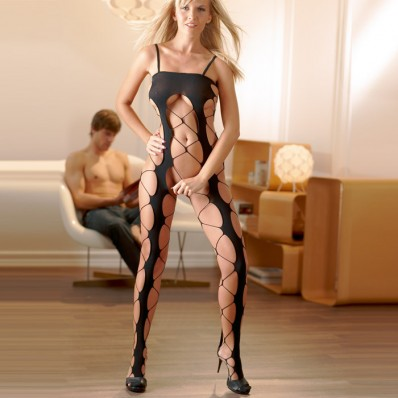Netted Catsuit
