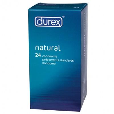 Durex Natural x 24 Condoms