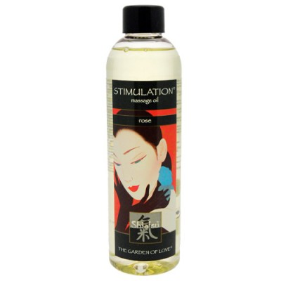Shiatsu Massage Oil Passion  Rose