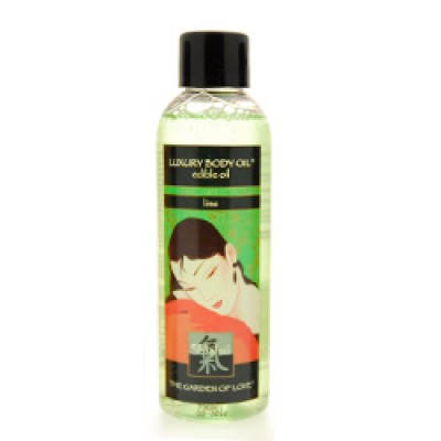 Shiatsu Luxury Edible Body Oil  Lime