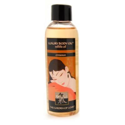 Shiatsu Luxury Edible Body Oil  Cinnamon