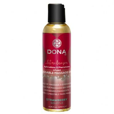 DONA Kissable Massage Oil Strawberry Souffle 110ml
