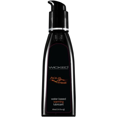 Wicked Aqua Heat Waterbased Warming Lubricant 60mls