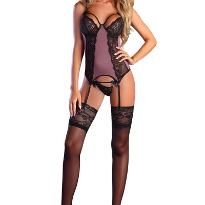 Corsetti Sweetie Basque and Thong