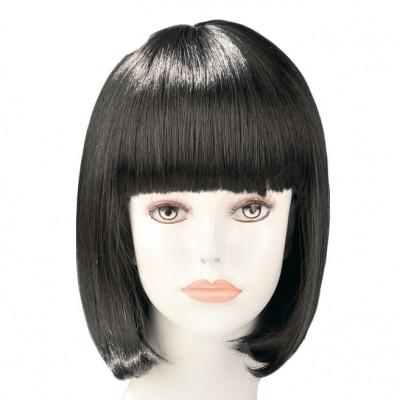 China Doll Black Bob Wig
