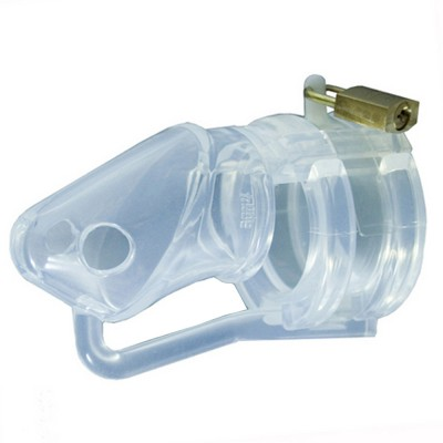 BON4 Silicone Male Chastity Device