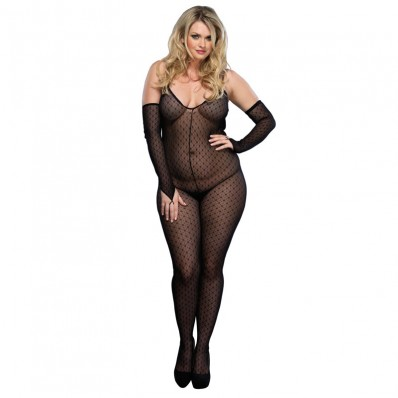 Leg Avenue Daisy Bodystocking UK 1618
