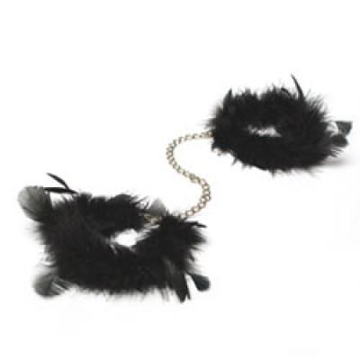 Za Za Zu Luxury Feather Handcuffs