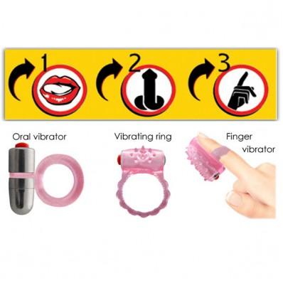 3Way Tongue Joy Oral Microvibe Kit
