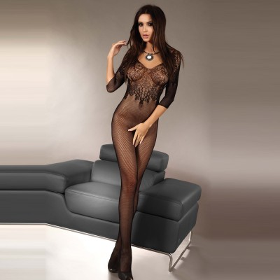 Corsetti Josslyn Crotchless Body Stocking UK Size 812