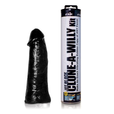 Clone A Willy Jet Black Vibrator