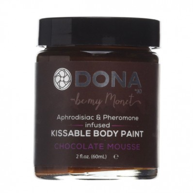 DONA Kissable Body Paint Chocolate Mousse