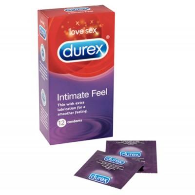 Durex Intimate Feel 12 Pack Condoms