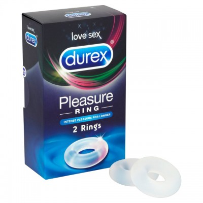 Durex Pleasure Cock Ring Twin Pack