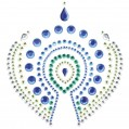 Bijoux Indscrets Flamboyant Body Jewelery Blue And Green