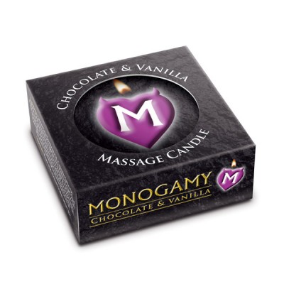 Monogamy Chocolate and Vanilla Small Intimate Candle 25g