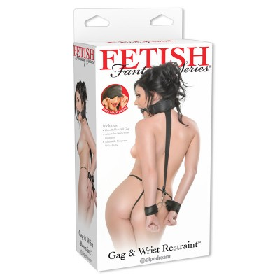 Fetish Fantasy Series  Gag and Wrist Restraint
