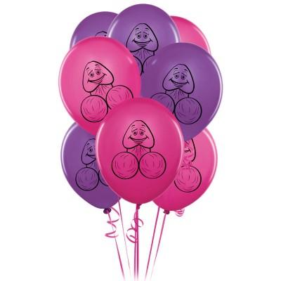 8 Pecker Party Balloons