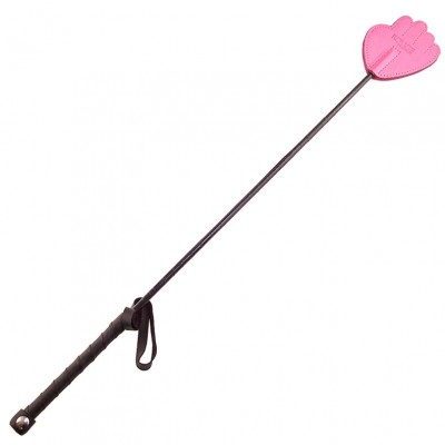 Rouge Garments Hand Riding Crop Pink
