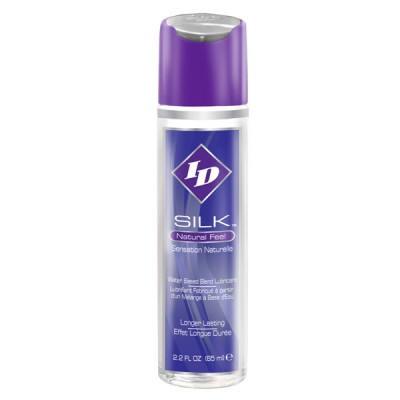 ID Silk Natural Feel Water based Lubricant 2.2floz/65mls