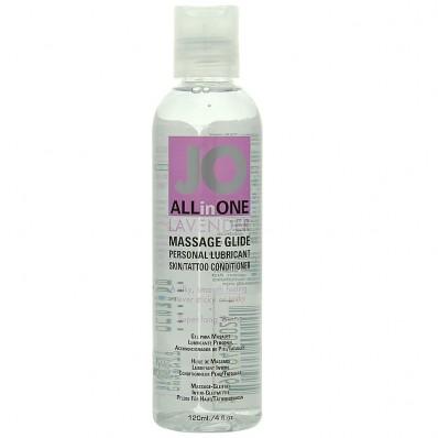 System Jo Massage Oil Lavender