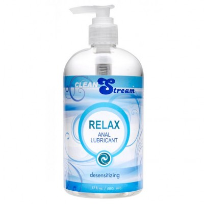 Clean Stream Relax Desensitizing Anal Lube 17 oz