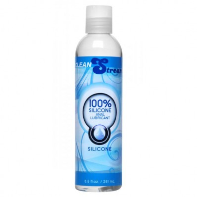 Clean Stream 100 Percent Silicone Anal Lubricant  8.5 oz